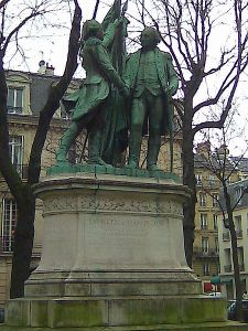 450px-Statue_of_Washington_and_Lafayette,_Paris