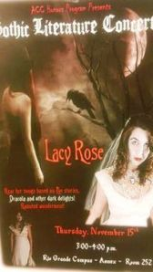 Lacy Rose Fall flyer