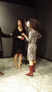 Kathryn Findlyn and Yuliya Lanina at 'Women and their Work' in Austin Texas ~ photo by Art Smith / Quinten Rhea